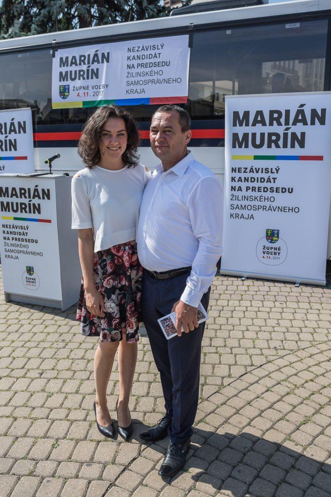 Marián Murín s dcérou